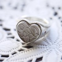 [THE LETTERS] WAXSEALINGJEWELRY SIGNET RING Love[愛] 〜真実の愛〜