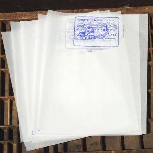 画像2: ベルギー 牛さん柄 バター包み紙
