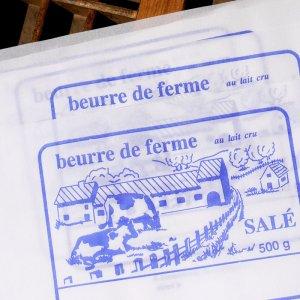 画像3: ベルギー 牛さん柄 バター包み紙