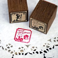THE LETTERS オリジナル切手スタンプ クリスマス