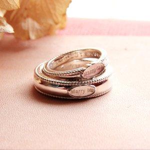 画像1: 結婚指輪に  WAXSEAL JEWELRY ~MarryMe~ ペアリング