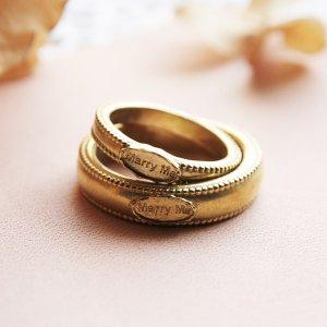 画像2: 結婚指輪に  WAXSEAL JEWELRY ~MarryMe~ ペアリング