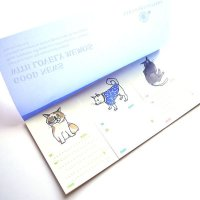 yamakami-letters GOOD NEWS WITH LOVELY MEMOS ネコ