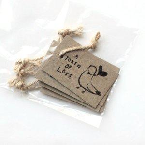 画像3: yamakami-letters GIFt TAG ギフトタグ・荷札 A TOKEN OF LOVE