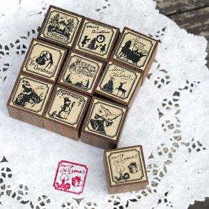 画像2: THE LETTERS オリジナル切手スタンプ クリスマス