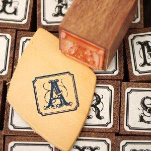 画像1: THE LETTERS オリジナル切手スタンプ アルファベット