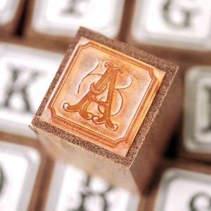 画像2: THE LETTERS オリジナル切手スタンプ アルファベット