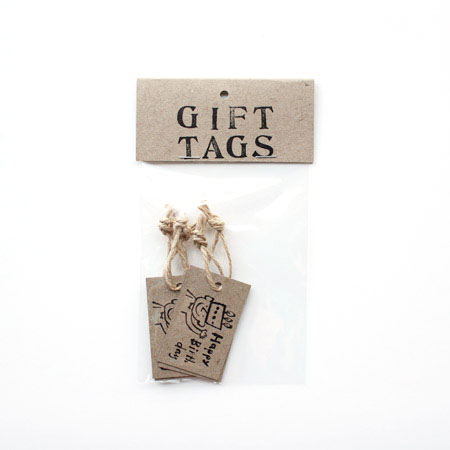 yamakami letters gift tag ギフトタグ 荷札 happy birthday melange